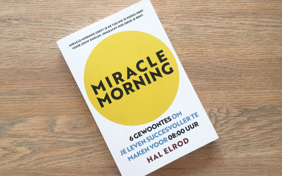 Boekentip: Miracle Morning